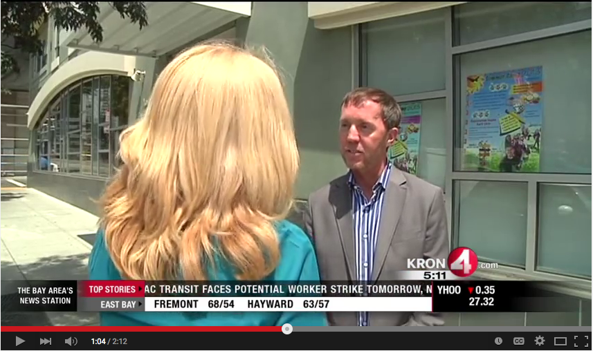 Brian Brown Interview with KRON 4